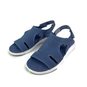 Ryka MICHA Womens Blue Soft Stretch Sport Sandal